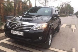 bang gia thue xe fortuner